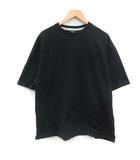 ナンバーナイン NUMBER (N)INE Tシャツ カットソー 半袖 オーバーサイズ 3 L 黒 ブラック /KT