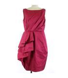 グレースコンチネンタル GRACE CONTINENTAL ドレス ワンピース ひざ丈 ノースリーブ 36 S ピンク /SR14