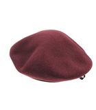 カンゴール KANGOL ベレー帽 帽子 フェルト リボン 紫 パープル /SR