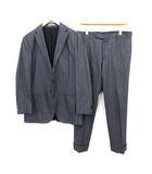 dover スーツ セットアップ 上下 テーラードジャケット パンツ シングル サイドベンツ 48 L 紺 ネイビー /KH ■IBS81