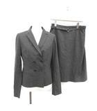 アルチザン ARTISAN スーツ セットアップ 上下 テーラードジャケット タイトスカート 11 M グレー /PJ