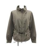 中綿ジャケット ブルゾン アウター ジップアップ スタンドカラー 40 M カーキ /KH ■ISB81