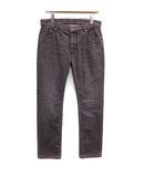 2011年製 デニム ジーンズ パンツ ブラックウォッシュ ストレート ロゴボタン ITL46 S グレー /KH ■ISB81