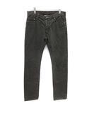 2010年製 デニム ジーンズ パンツ ブラックウォッシュ ストレート ITL46 S グレー /KH ■ISB81