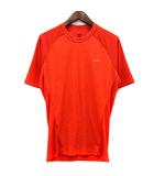 パタゴニア Patagonia カットソー Tシャツ クルーネック 半袖 S オレンジ /SR15