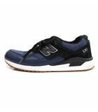 ニューバランス NEW BALANCE M530NOB スニーカー シューズ 26.5cm 青 ブルー 黒 ブラック /HZ15