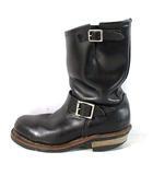 レッドウィング REDWING ブーツ エンジニア レザー 羽タグ 2268 黒 7D 靴 ※U11