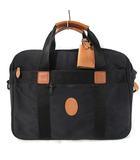 ディオール Dior ブリーフケース ビジネスバッグ 書類かばん ショルダー 2way キャンバス レザー 黒 ブラック 鞄 IBS7