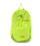 ザノースフェイス THE NORTH FACE 14SS リュックサック デイパック フライウェイトリーコン コンパクト 収納 アウトドア メッシュ ナイロン NM81409 黄緑 鞄