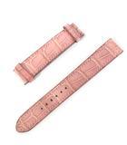 エルメス HERMES レザーベルト 革ベルト のみ 腕時計 型押し □I 刻印 ピンク ☆AA★