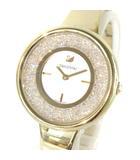 スワロフスキー SWAROVSKI 腕時計 クリスタルライン ピュア Crystalline Pure クオーツ 5269253 ゴールド