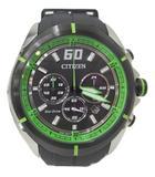 シチズン CITIZEN エコドライブ ソーラー時計 箱付 腕時計 B620-S090768 GN-4W-S 411020635 黒 緑 秒時計