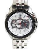 エディフィス EDIFICE CASIO 電波時計 動作品 EQW-M710 タフソーラー 腕時計 ウォッチ 10気圧防水 5089 ステンレス スチール