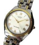 セイコー SEIKO ローレル キネティック ファインセラミック×チタン 腕時計 シルバー×ゴールド色 4M21-0B00