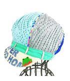 スーパーブーホームズ SUPER BOO HOMES 総柄 キャスケット 帽子 気球 キッズ キャップ コットン サイズM マルチカラー/1 ◎H2