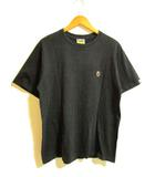 アベイシングエイプ A BATHING APE BAPE ベイプ Tシャツ 半袖 胸ロゴ 黒 L 0308