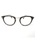 トムフォード TOM FORD 眼鏡 メガネ フレーム ウェリントンタイプ TF5466 度入り ブラウン 茶 49□22-145 0420