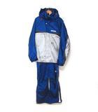 フェニックス PHENIX スキーウェア セットアップ 中綿 ジャケット フーディー サロペット パンツ 上下セット ブルー 180 190901