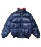 モンクレール MONCLER アシックス製 SMQ115 スキーウェア リバーシブル ダウン ジャケット ブルゾン 赤×紺 160 190915