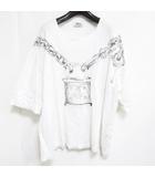 ヴィヴィアンウエストウッドマン Vivienne Westwood MAN オーバーサイズ Tシャツ オーブ ロック キー プリント 半袖 ホワイト 白 1004 IBS31