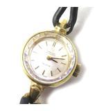 オメガ OMEGA DE VILLE デヴィル 腕時計 アンティーク 自動巻き 純正尾錠 カットガラス ミニ GP 0928