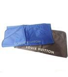 ルイヴィトン LOUIS VUITTON ガーメント ケース 2枚 まとめ カバー ジャケット スーツ用 紺&茶 0229
