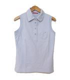 プラダ PRADA スポーツ ポロシャツ ノースリーブ ストレッチ 胸ポケット M 191028