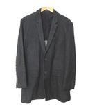 エンポリオアルマーニ EMPORIO ARMANI MATT LINE シングル ジャケット 起毛 黒 52 191108