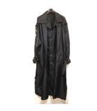 ヨウジヤマモトプールオム YOHJI YAMAMOTO POUR HOMME 20SS Nylon Taffeta Big Trench coat ビッグ トレンチコート ロング HN-04-604 ナイロン タフタ 黒 1 0424