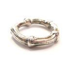 ティファニー TIFFANY & CO. リング バンブー 指輪 ピンキー シルバー 925 銀 箱付き #4 0526