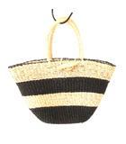 アニエスベー ボヤージュ Agnes b. VOYAGE バスケット かごバッグ ボーダー 巾着付き ハンドバッグ 0617
