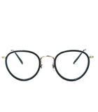 オリバーピープルズ OLIVER PEOPLES MP-2 雅 Limited Edition みやび めがね 眼鏡 サングラス フレーム 日本製 46□24-148 黒×ゴールド 0906