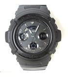 カシオジーショック CASIO G-SHOCK 腕時計 AW-591BB デジアナ クォーツ ラバー オールブラック 黒 稼働品 箱付き0920
