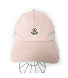 キャップ 帽子 BERRETTO BASEBALL ロゴ 薄ピンク F  0213