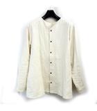 classic shirt ヘンプ 21SS クラシックシャツ 長袖 アイボリー 2 0919