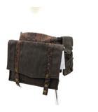 エイチナオト h.NAOTO STEAM 3WAY スマートフォンホルスター付きベルトポーチ ポケットバッグ スチームパンク 蒸気 グレー 鞄 190319M