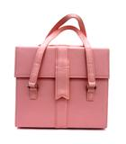 エミリーテンプルキュート Emily Temple cute エミキュ プレゼントボックスバニティ バッグ メイク コスメ フェイクレザー リボン ピンク 190320M 鞄