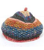 キャピタル kapital 帽子 ニット帽 ビーニー 56cm~57.5cm マルチカラー /C