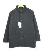 ホールマーク Hallmark キルティング コート マイクロファイバー ダウン 中綿 アウター 黒 ブラック S