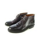 オールデン ALDEN 1339 コードバン チャッカブーツ バリーラスト 靴 バーガンディ US6 Dワイズ