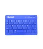 ピーナッツクラブ ワイヤレス コンパクト キーボード MA-2649 Bluetooth ブルー 青