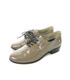 オリエンタルトラフィック ORIENTAL TRAFFIC エナメルレースアップシューズ マニッシュ 靴 ベージュ L