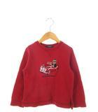 バーバリー ロンドン BURBERRY LONDON キッズ トレーナー スウェット トップス 子供服 レッド 赤 100A