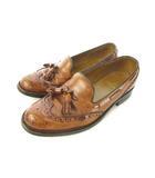 リーガル REGAL タッセル ローファー 靴 ビジネスシューズ ブラウン 25cm