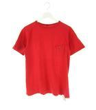 ナイジェルケーボン NIGEL CABOURN Tシャツ カットソー 無地 ポケット フリーダムスリーブ 半袖 赤 46