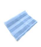 サルヴァトーレフェラガモ Salvatore Ferragamo ストール スカーフ 総柄 シルク100% ライトブルー