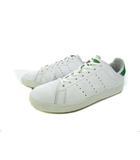 アディダス adidas スタンスミス バルカ STAN SMITH VULC スニーカー 靴 レザー ローカット 白 緑 27