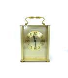 ブローバ BULOVA 置時計 クォーツ 2針 西ドイツ 金 ゴールド インテリア 雑貨