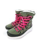 ナイキ NIKE ローシラン ハイ スニーカーブーツ Rosherun Hi Sneakerboot GS ジュニア 靴 カーキ 23cm