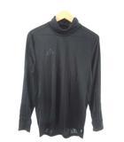 アディダス adidas TANGO CAGE ハイネック ジャージ 長袖 プラクティスシャツ トレーニング サッカー フットサル 黒 ブラック L